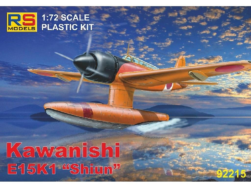 1/72 Kawanishi E15 K