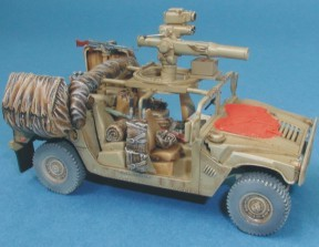 1/72 Hummer IDF - conversion set for REV