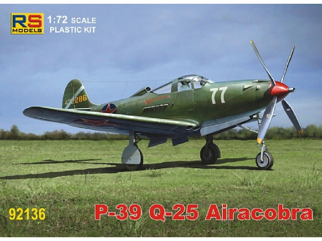 1/72 P-39 Q-25 Airacobra