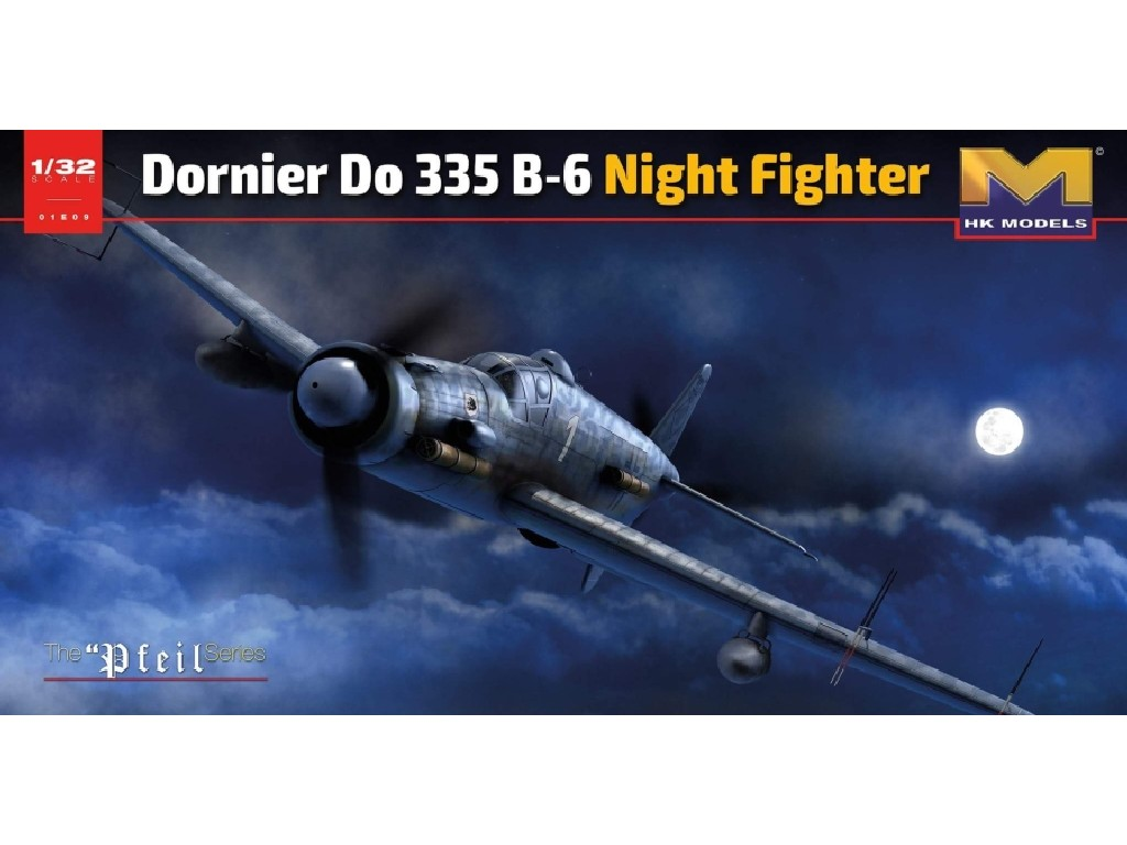 Hong Kong Models - 01E21 - Dornier Do 335 B-6 Night Fighter 1:32
