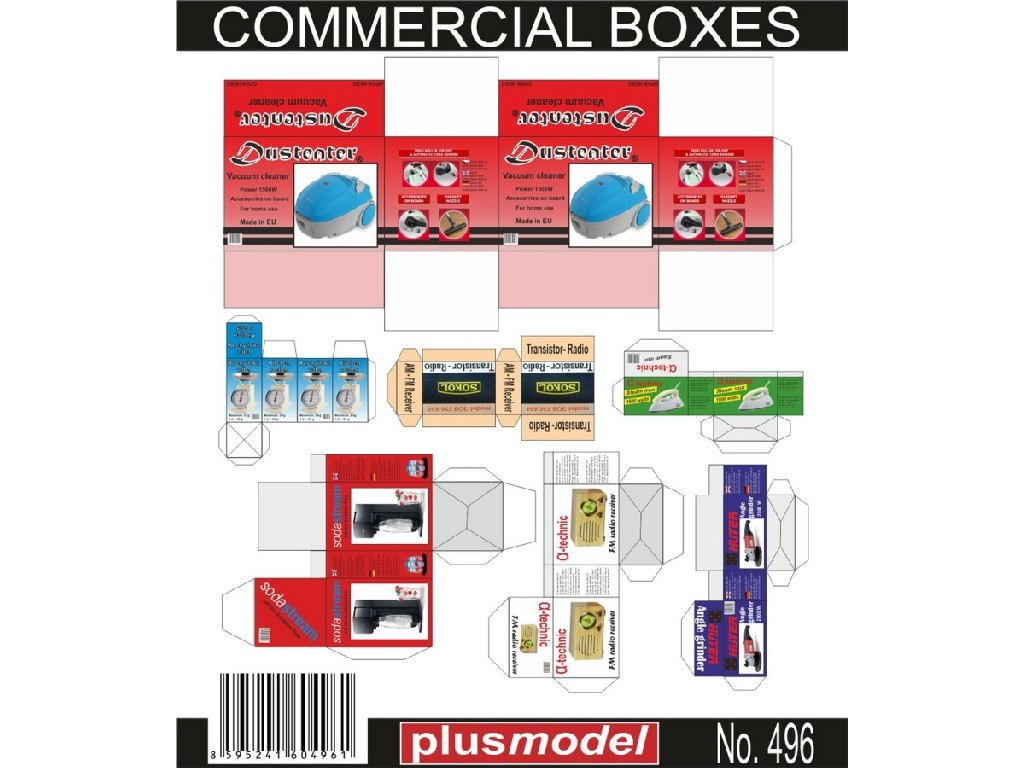 1/35 Commercial boxes
