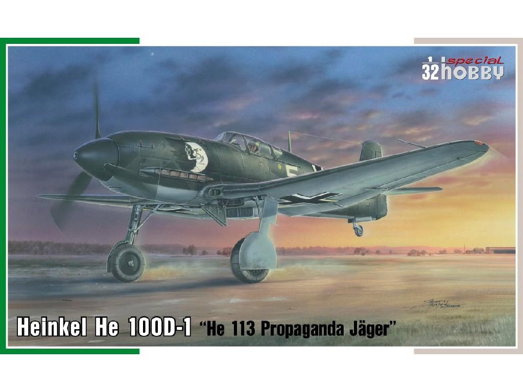1/32 Heinkel He 100D-1 Propaganda Jäger He 113
