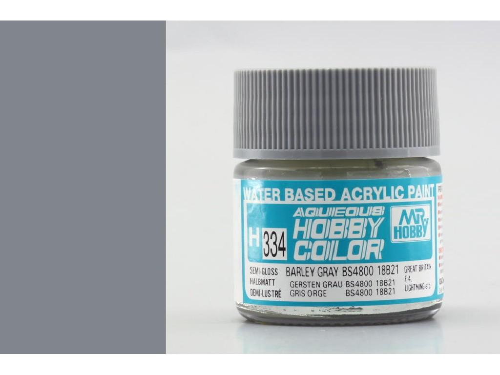Mr. Hobby - Aqueous - H334 - Barley Gray BS4800/18B21 - Slámově šedá 10ml