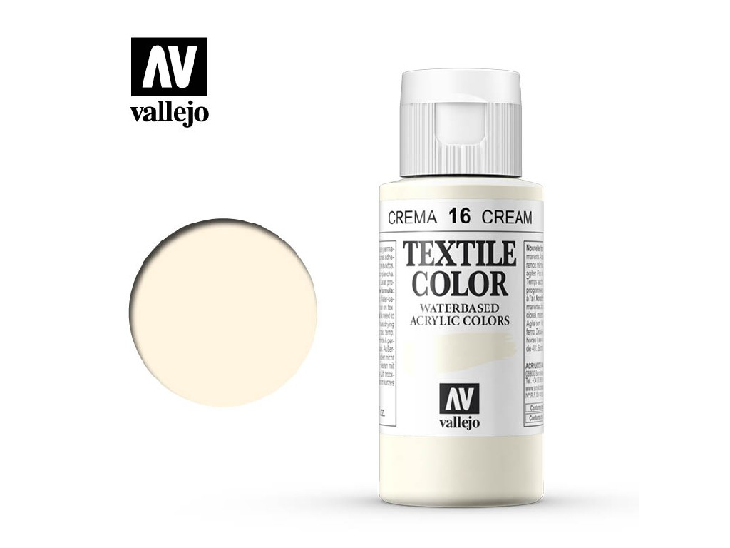 Vallejo - Textil Color 16 Buttermilk 60ml
