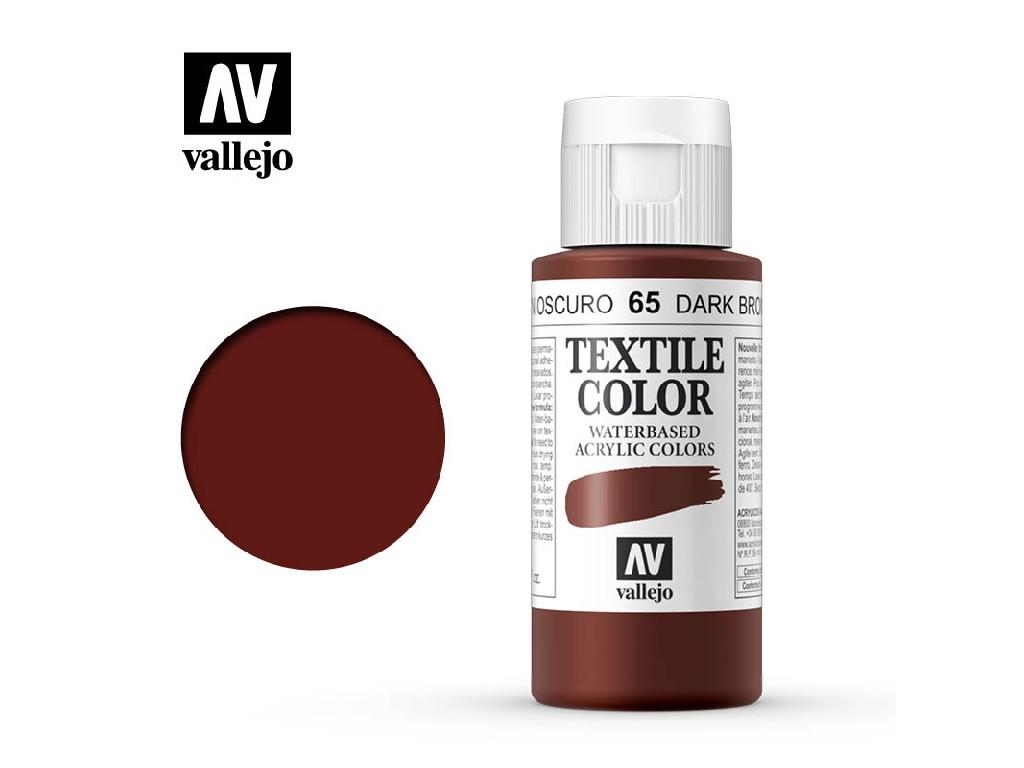 Vallejo - Textil Color 65 Velvet Brown 60ml