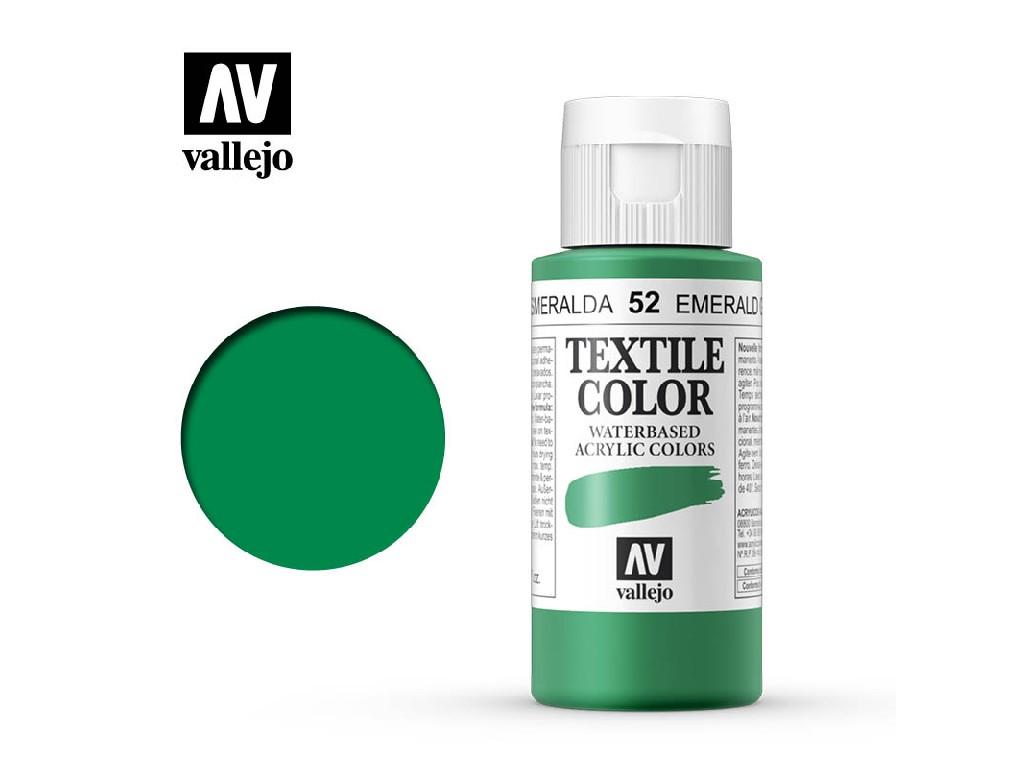Vallejo - Textil Color 52 Emerald Green 60ml