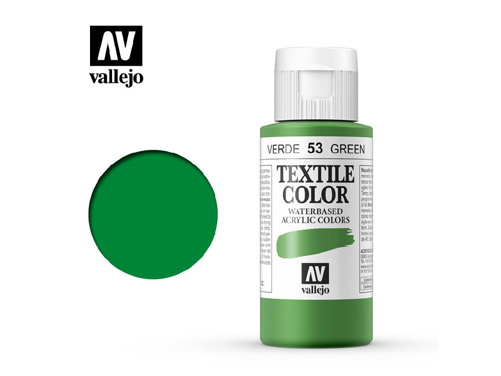 Vallejo - Textil Color 53 Green (opaque) 60ml