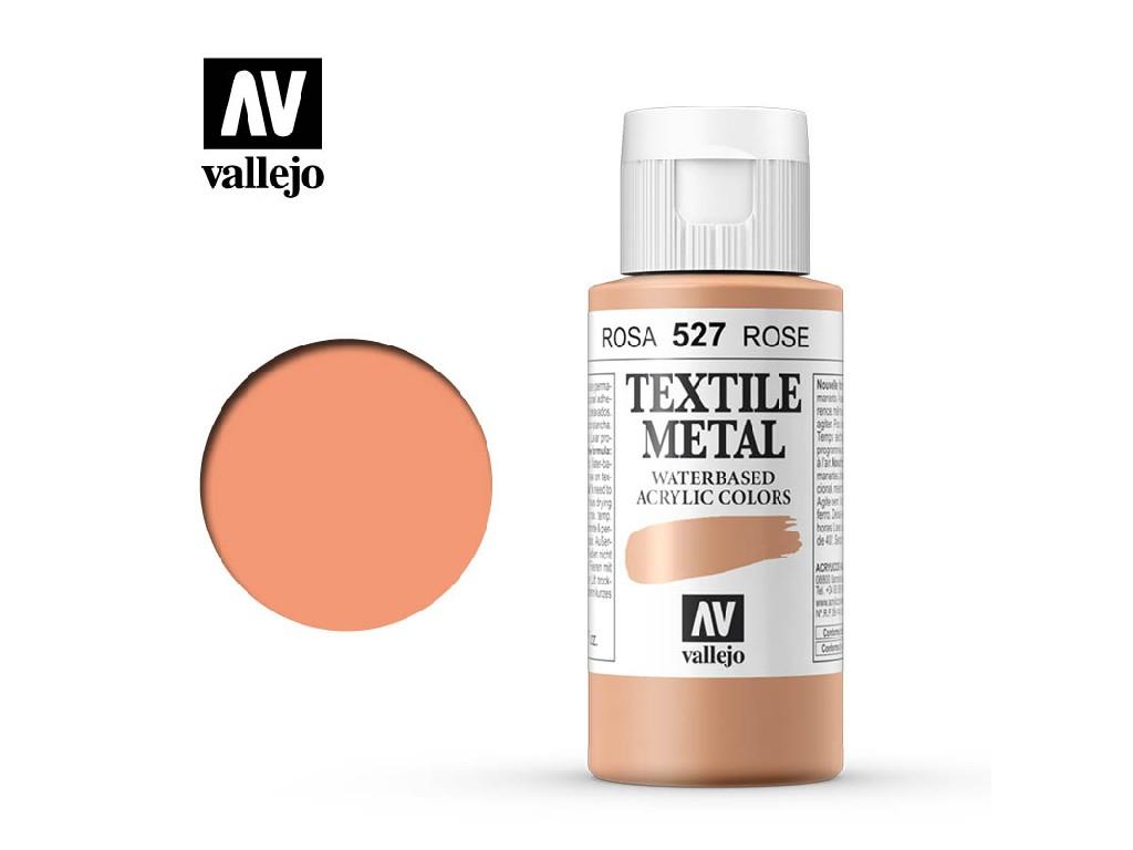 Vallejo - Textil Color Metal 527 Rose Metal 60ml