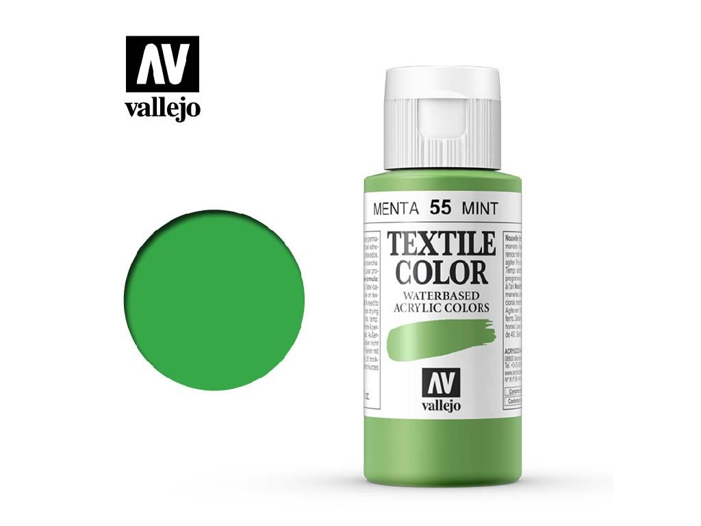 Vallejo - Textil Color 55 Mint (opaque) 60ml