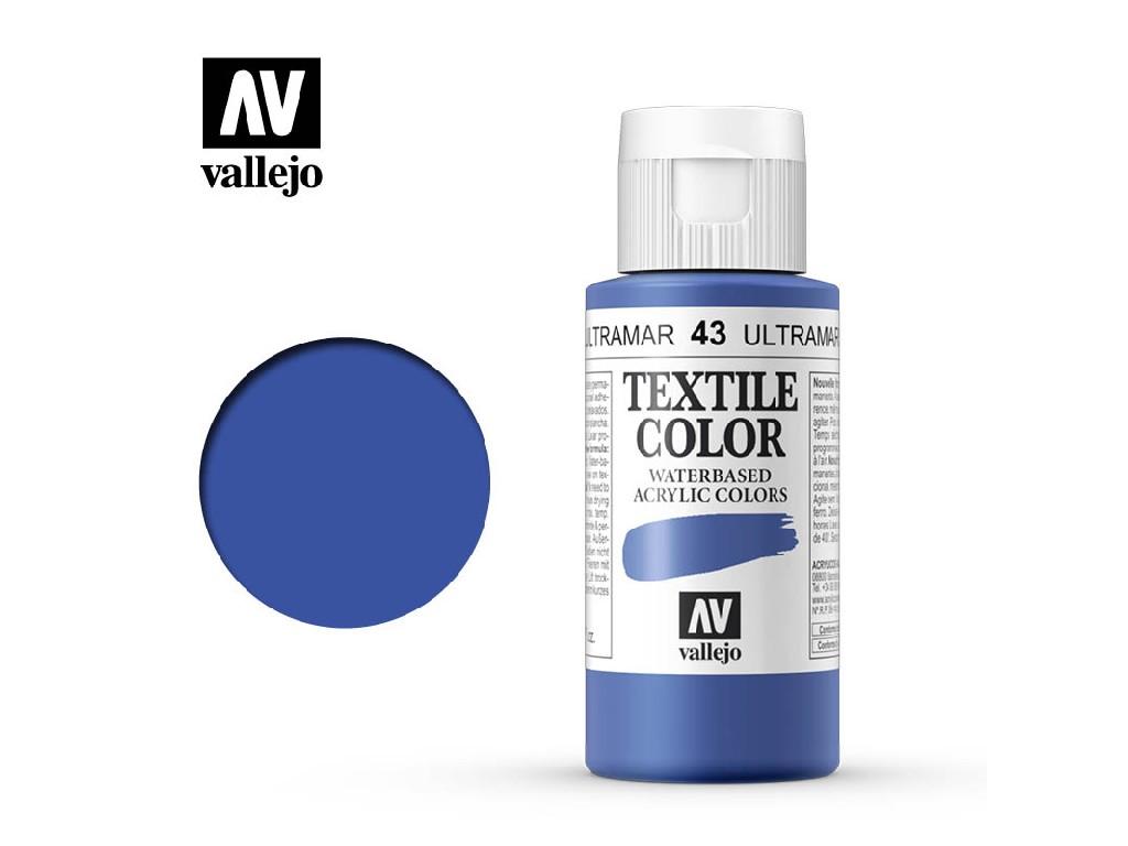 Vallejo - Textil Color 43 Blue (opaque) 60ml