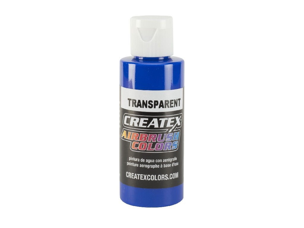 Createx Transparent Deep Blue - 60ml