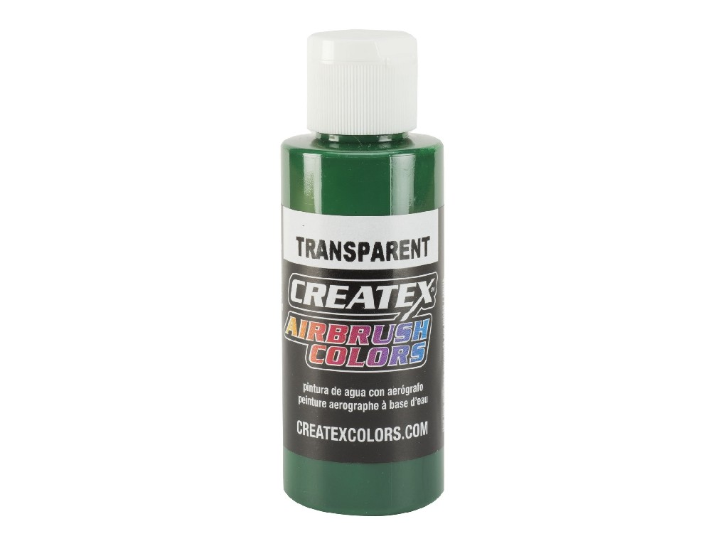 Createx Transparent Forest Green - 60ml