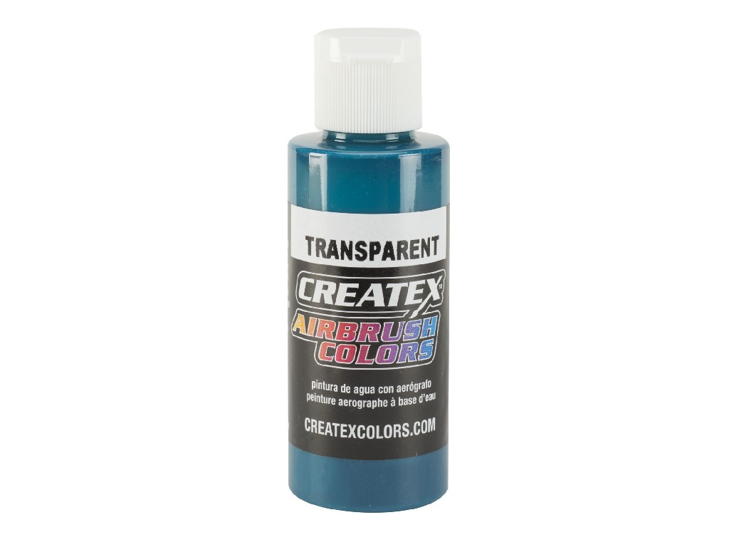 Createx Transparent Turquoise - 60ml