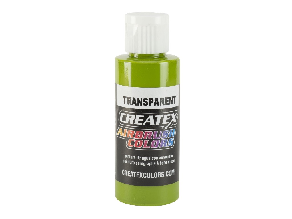Createx Transparent Tropial Green - 60ml