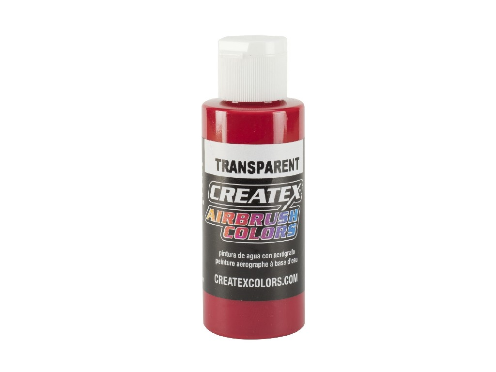 Createx Transparent Carmine - 60ml