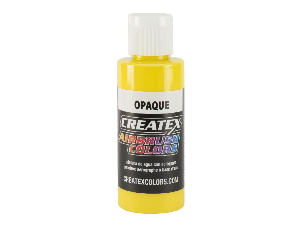 Createx Opaque Yellow - 60ml
