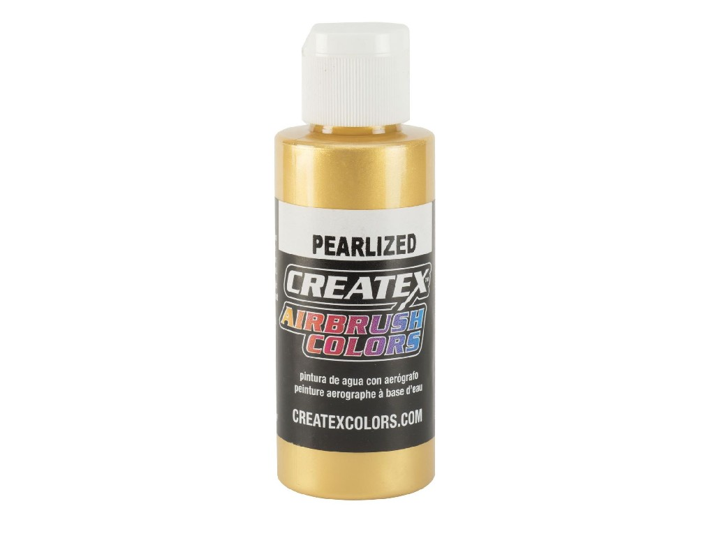Createx Pearl Satin Gold - 60ml