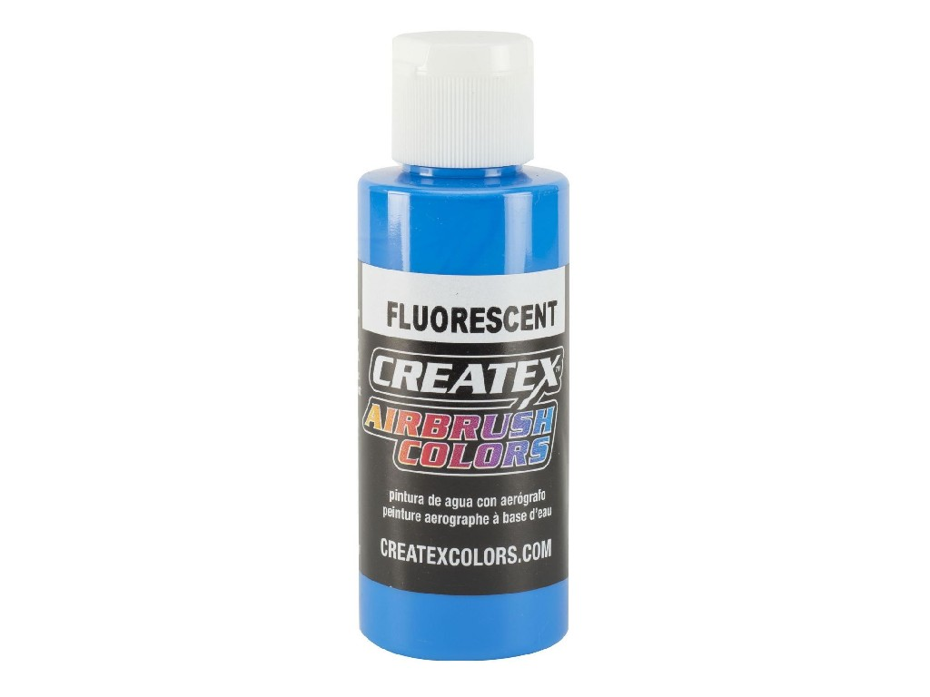 Createx Fluorescent Blue - 60ml