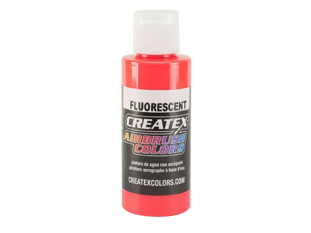 Createx Fluorescent Red - 60ml
