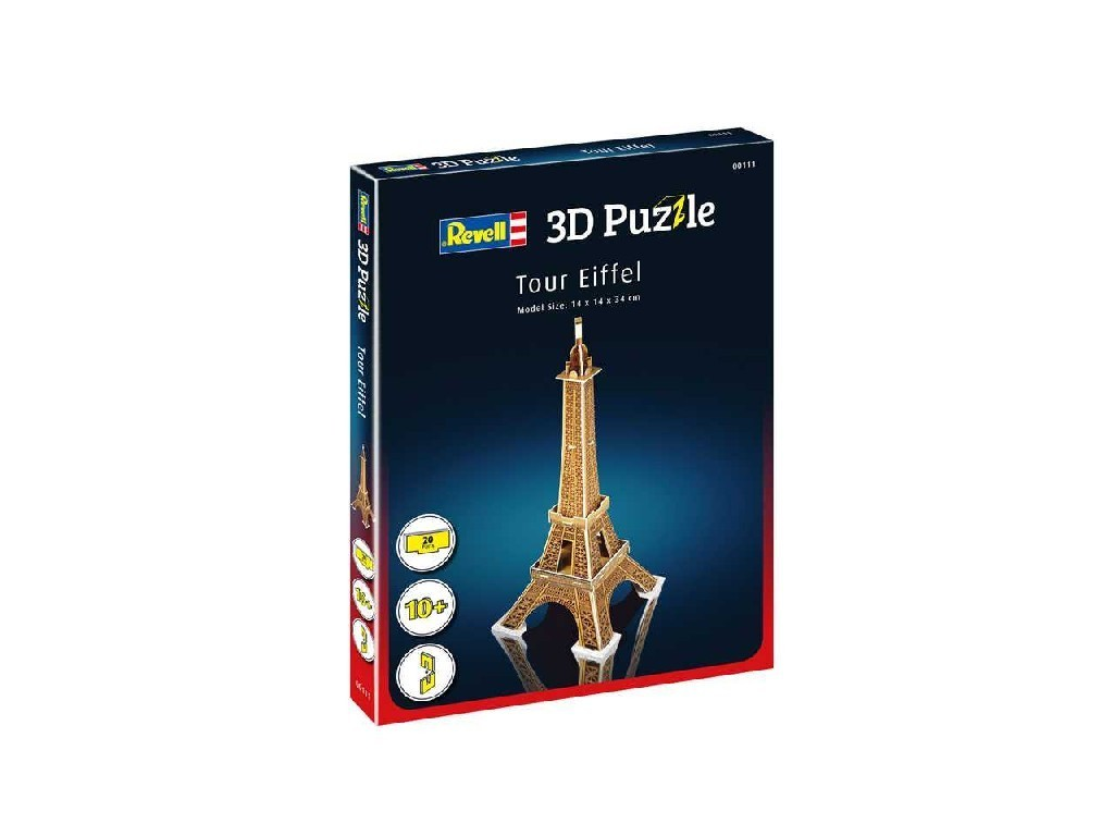 3D Puzzle REVELL 00111 - Eiffel Tower
