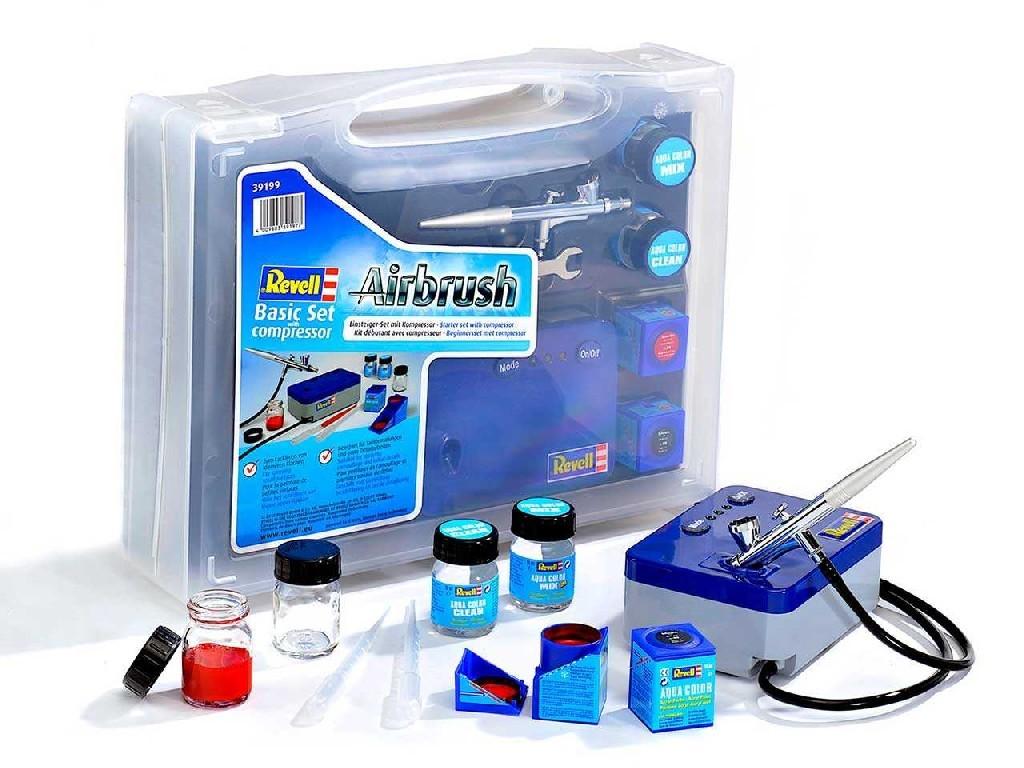 Airbrush Set 39199 - základní řada s kompresorem
