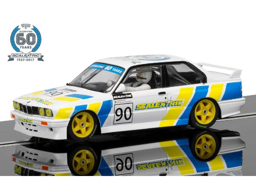 1/32 Autíčko 60th Anniversary Collection SCALEXTRIC C3829A - BMW E30 M3 Limited Edition