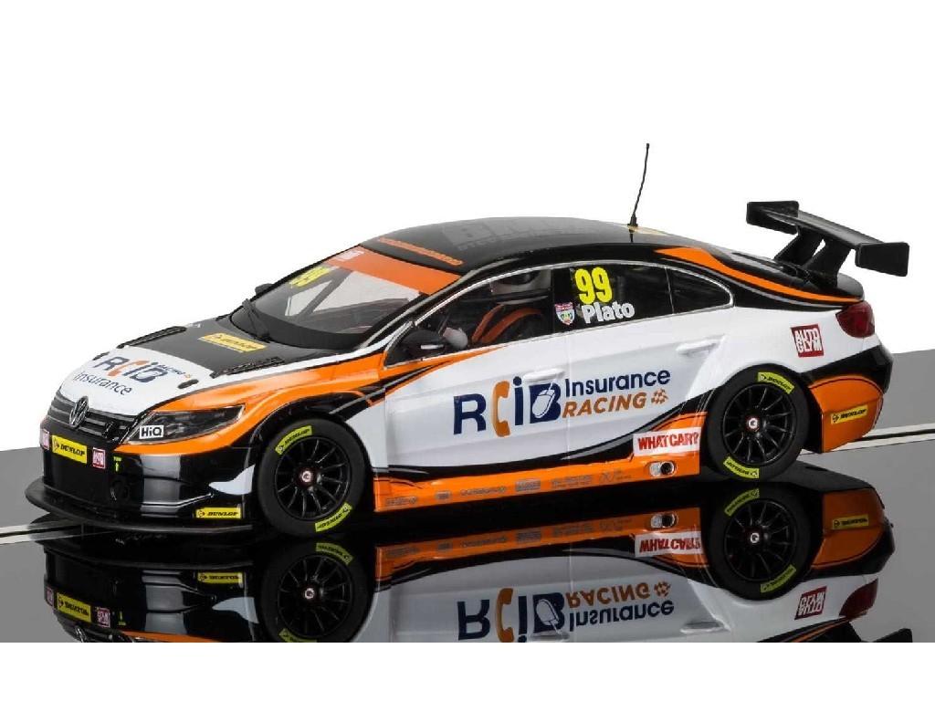 1/32 Autíčko Circuit SCALEXTRIC C3737 - BTCC VW Passat - Jason Plato, Brands Hatch 2015