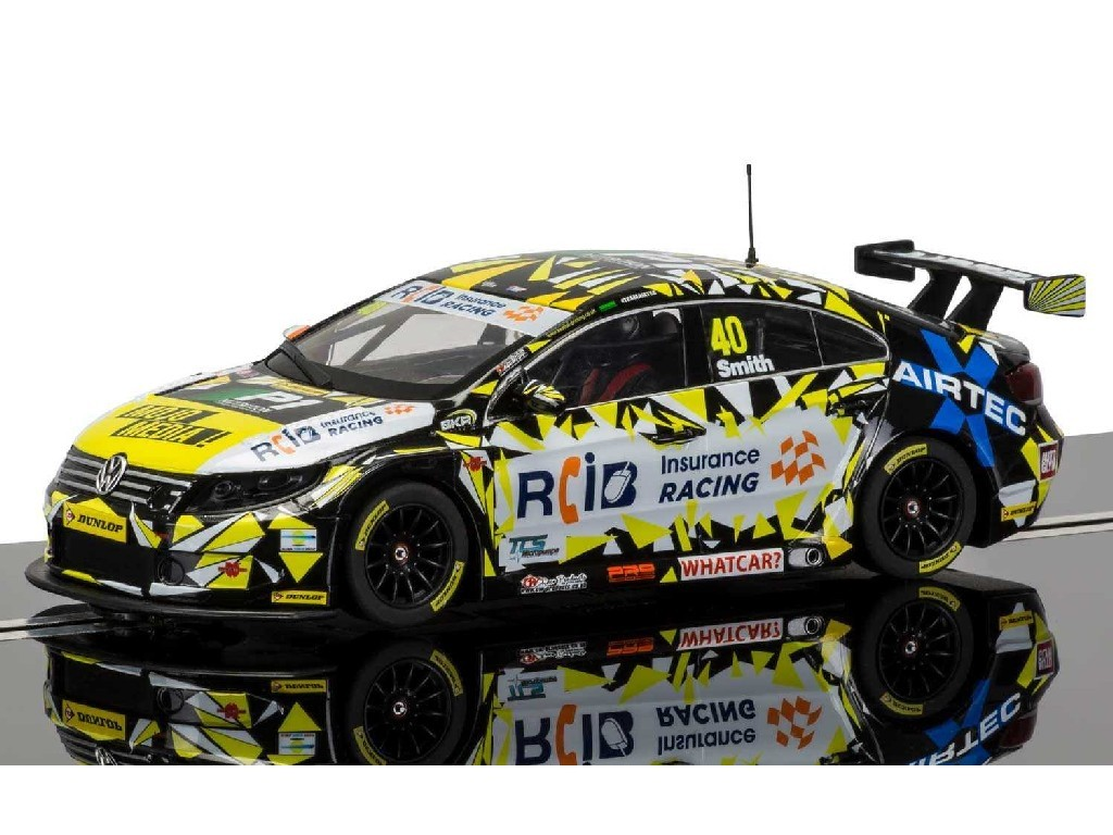 1/32 Autíčko Circuit SCALEXTRIC C3864 - BTCC VW Passat, Aron Smith