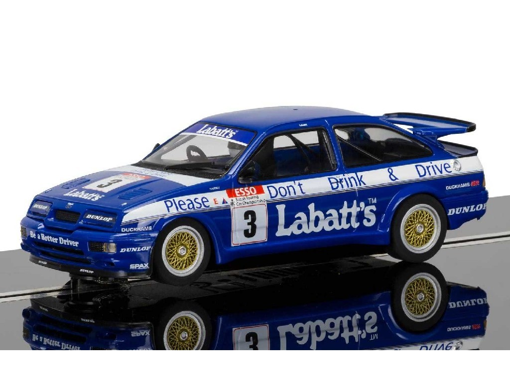 Autíčko Circuit Scalextric C3867 - Ford Sierra RS500, Tim Harvey (1:32)