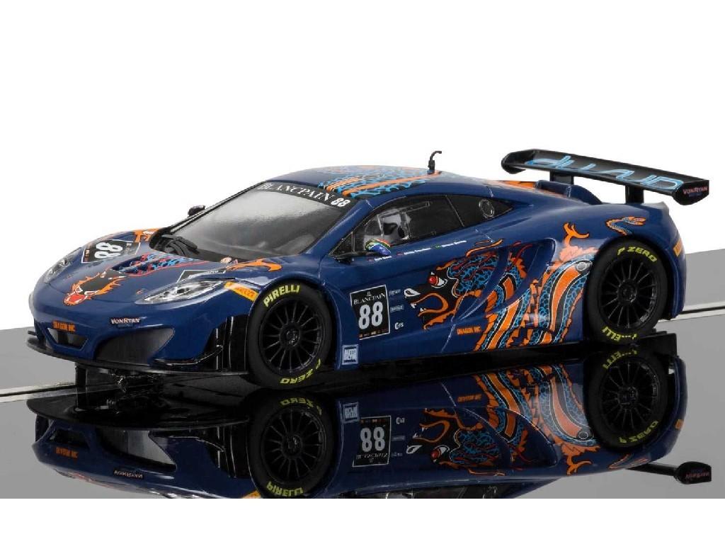 1/32 Autíčko GT SCALEXTRIC C3850 - McLaren 12C GT3, Von Ryan Racing