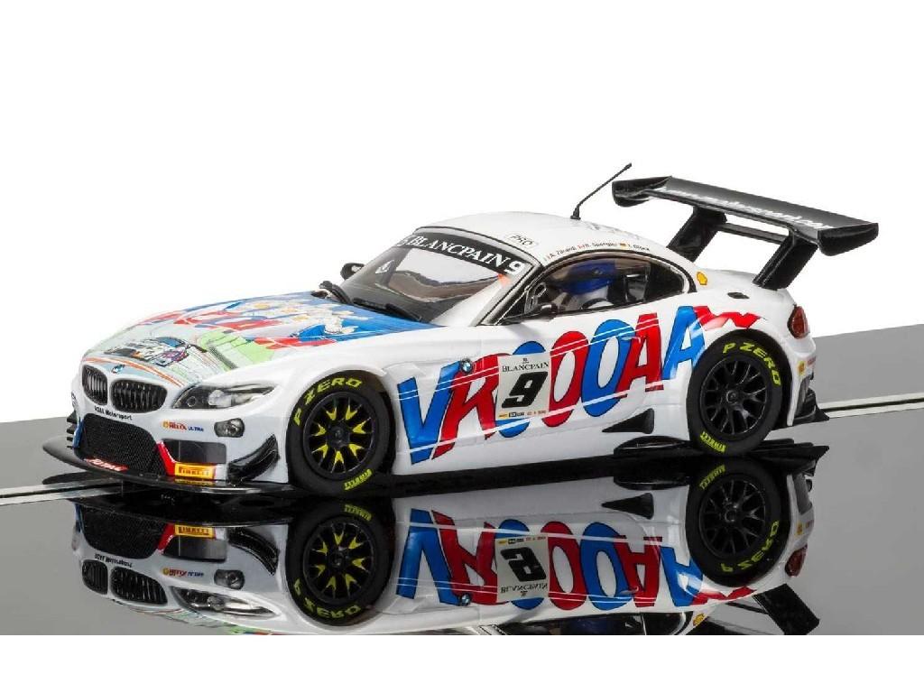1/32 Autíčko GT SCALEXTRIC C3855 - BMW Z4 GT3 ROAL Motorsport Spa 2015