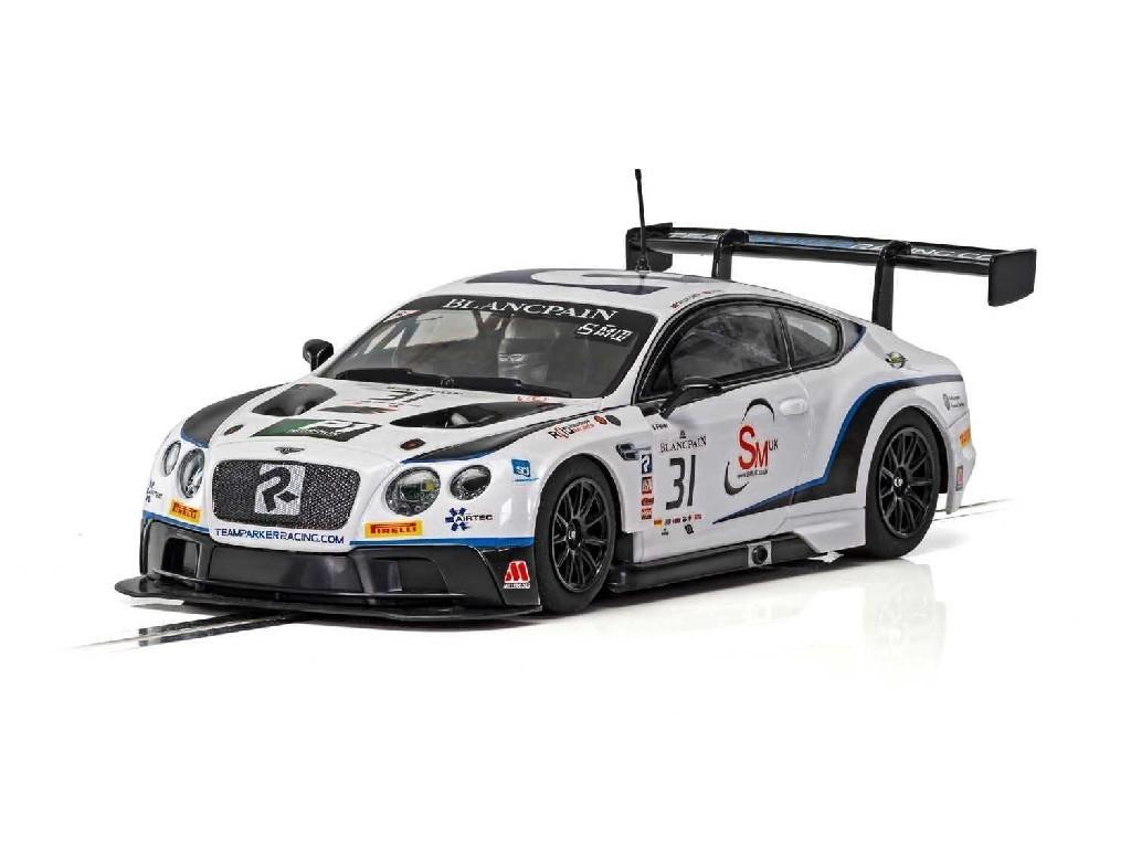 1/32 Autíčko GT SCALEXTRIC C4024 - Bentley Continental GT3 - Team Parker Racing - Brands Hatch 2018