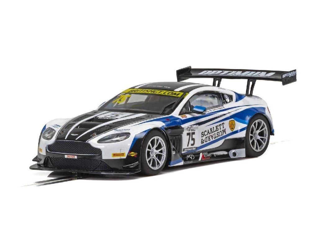 1/32 Autíčko GT SCALEXTRIC C4027 - Aston Martin GT3 - British GT 2018 - Flick Haigh, Johnny Adam