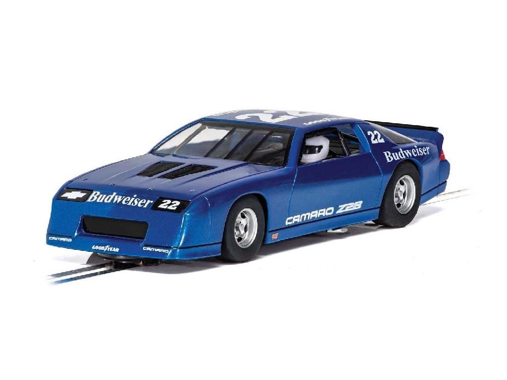 1/32 Autíčko GT SCALEXTRIC C4145 - Chevrolet Camaro IROC-Z - Blue