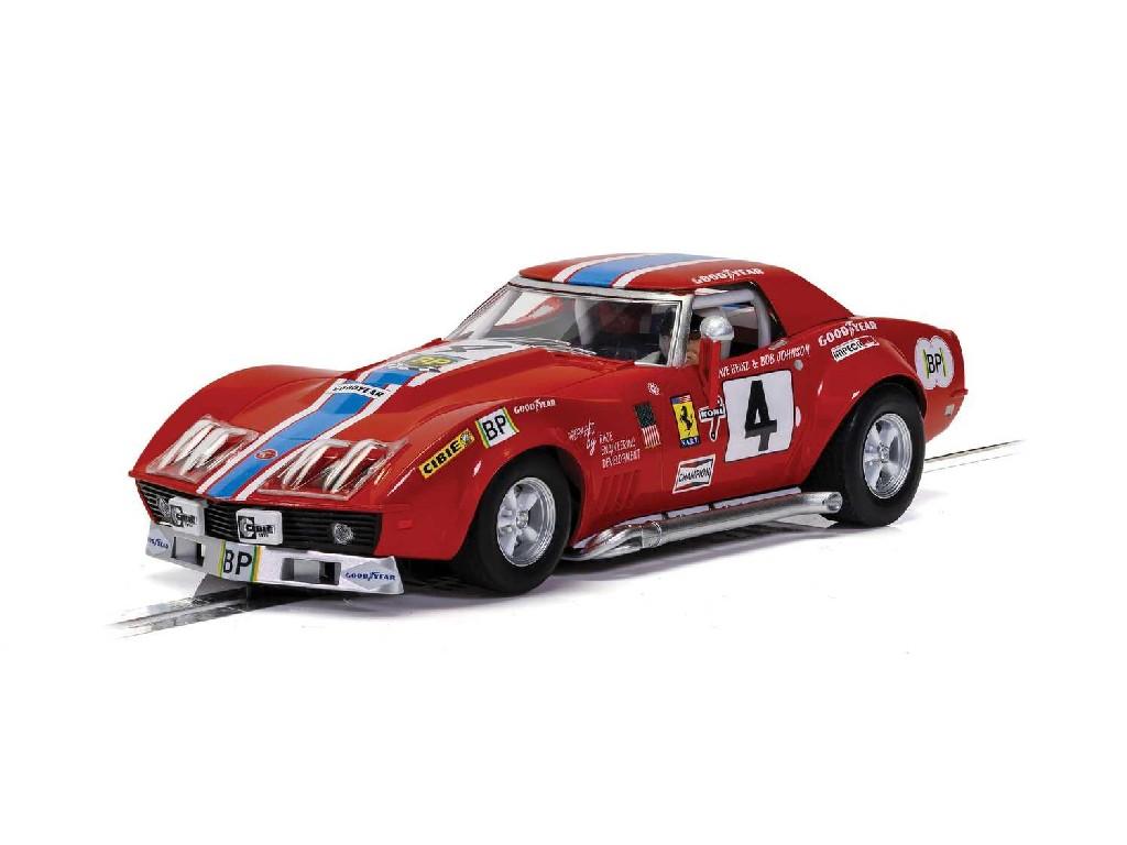 Autíčko GT SCALEXTRIC C4215 - Chevrolet Corvette L88 - LeMans 1972 - NART (1:32)