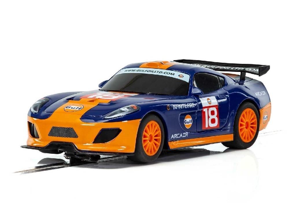 Autíčko Gulf Scalextric C4091 - Team GT Gulf (1:32)
