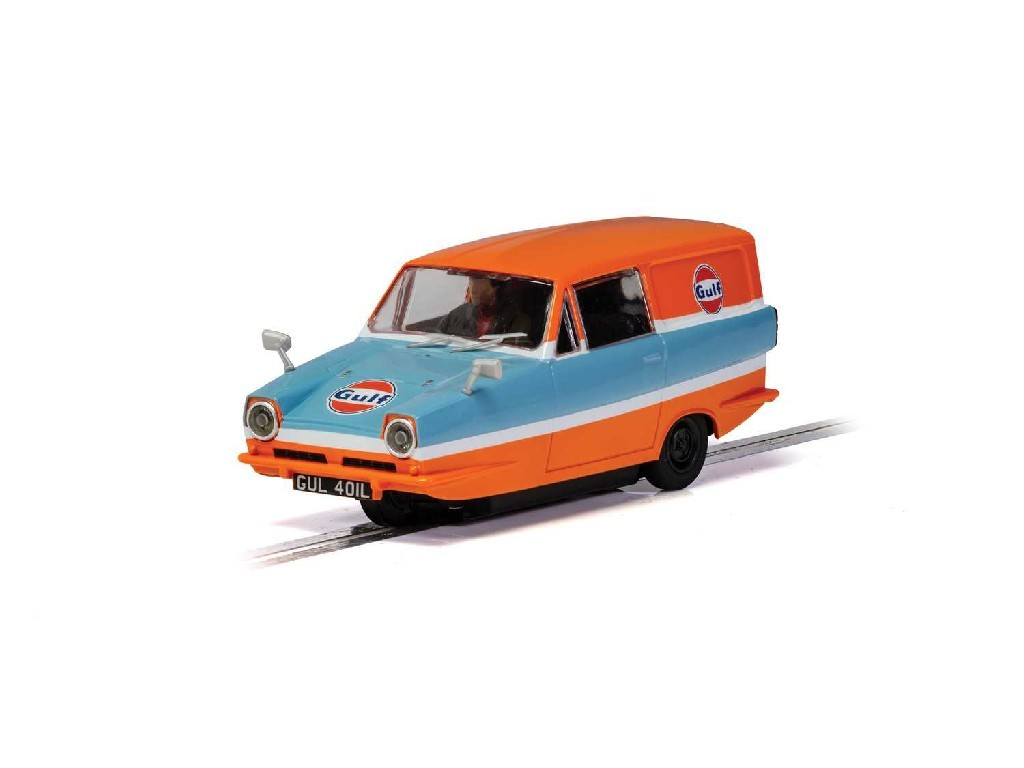 Autíčko Gulf SCALEXTRIC C4193 - Reliant Regal Van (1:32)