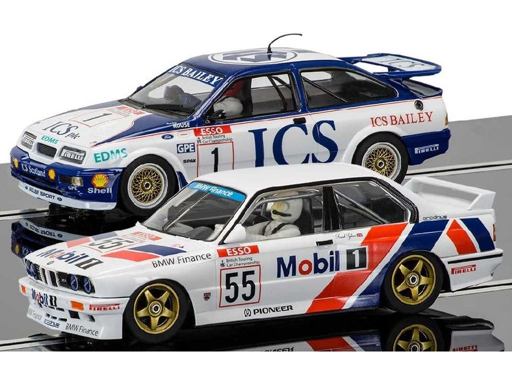 1/32 Autíčko Limited Edition SCALEXTRIC C3693A - Touring Car Legends - Ford Sierra RS500 vs BMW E30