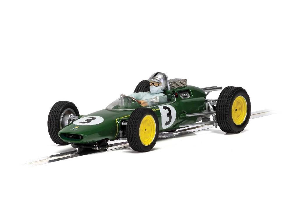 Autíčko Rally SCALEXTRIC C4083 - Lotus 25 - Monaco GP 1963 - Jack Brabham (1:32)