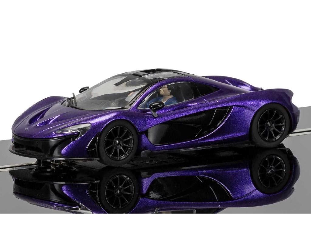 1/32 Autíčko Street SCALEXTRIC C3842 - McLaren P1, Purple