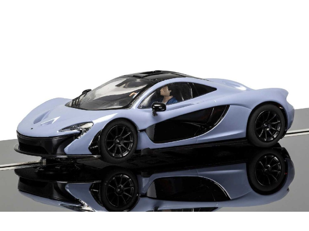 1/32 Autíčko Street SCALEXTRIC C3877 - McLaren P1, Grey