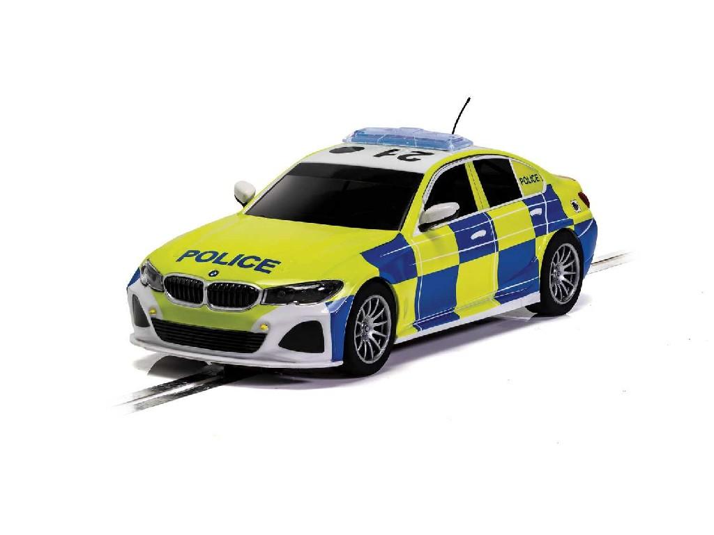 Autíčko Street SCALEXTRIC C4165 - BMW 330i M-Sport - Police Car (1:32)