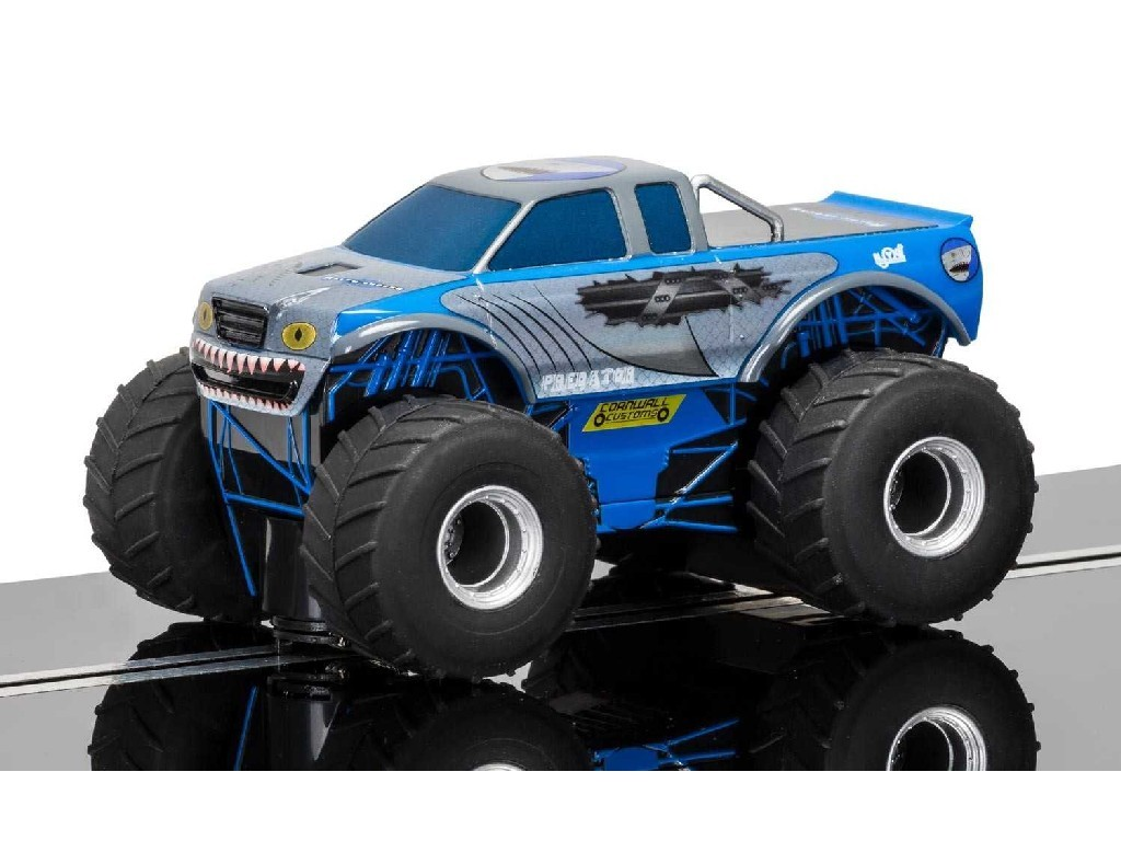 Autíčko Super Resistant Scalextric C3835 - Team Monster Truck Predator (1:32)