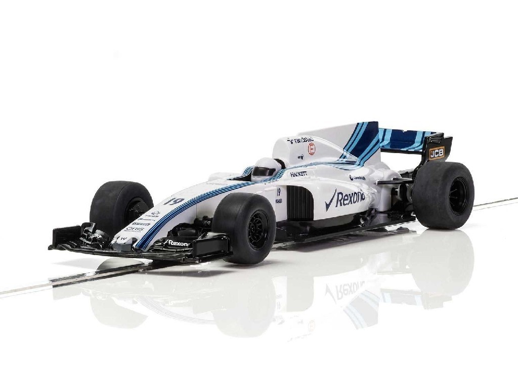 Autíčko Super Resistant Scalextric C3955 - Williams FW40 Car - 2017 [New Tooling 2018] (1:32)