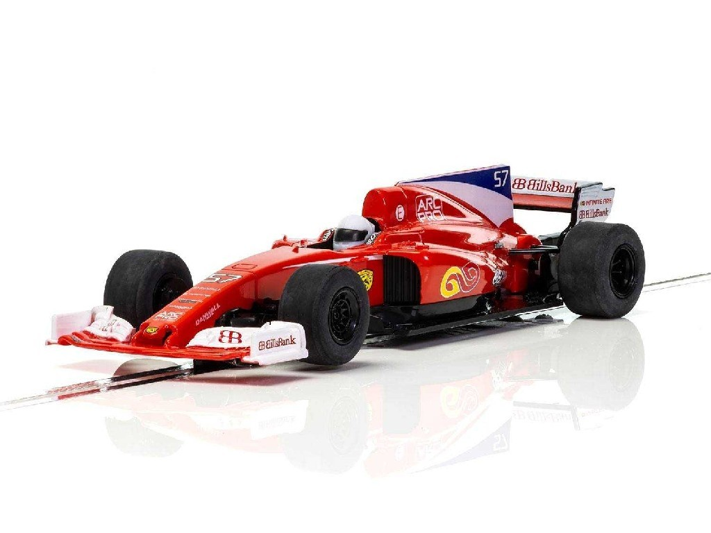 Autíčko Super Resistant Scalextric C3958 - Red Stallion F1 Car [New Tooling 2018] (1:32)