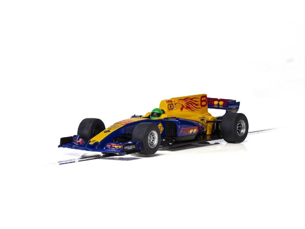 Autíčko Super Resistant Scalextric C3960 - 2017 Formula One Car - Blue [New Tooling 2018] (1:32)