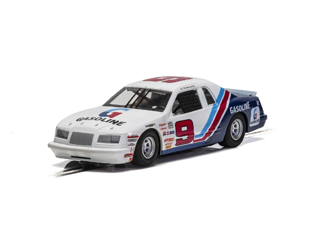 1/32 Autíčko Super Resistant SCALEXTRIC C4035 - Ford Thunderbird - Blue and White and Red