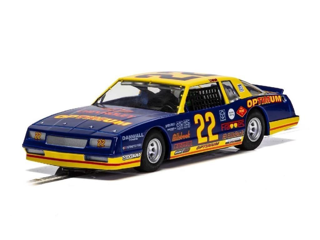 1/32 Autíčko Super Resistant SCALEXTRIC C4038 - Chevrolet Monte Carlo 1986 - Optimum No22