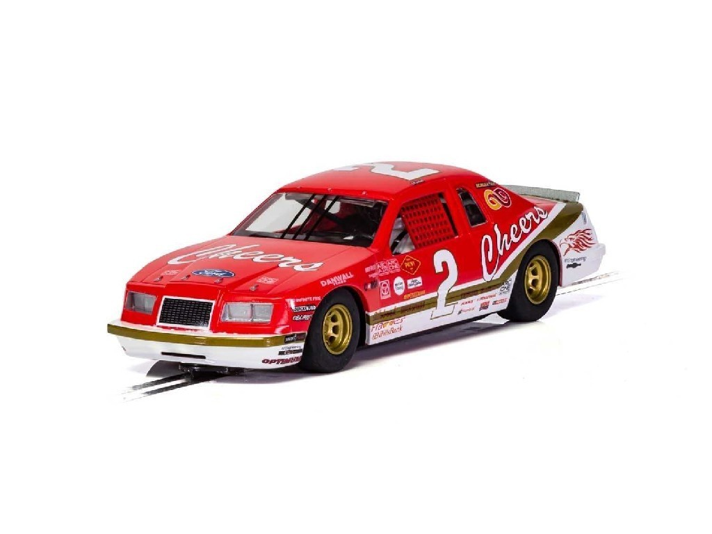 1/32 Autíčko Super Resistant SCALEXTRIC C4067 - Ford Thunderbird - Red and White