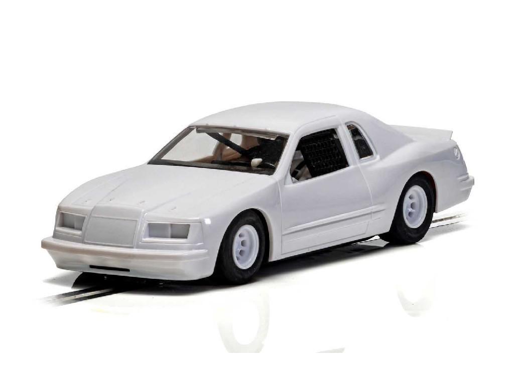 Autíčko Super Resistant Scalextric C4077 - Ford Thunderbird - White (1:32)